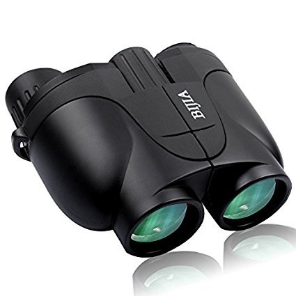 G4Free Binoculars Mini Compact 10x25 Binocular HD for Bird Watching Camping