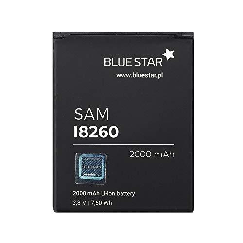 Blue Star Premium - Batería de Li-Ion litio 2000 mAh de Capacidad Carga Rapida 2.0 Compatible con el SAMSUNG GALAXY CORE I8260