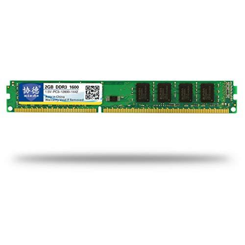 Candybarbar DDR3 1600 2G / 4G / 8G Desktop PC Módulo de Memoria de Memoria PC3-12800 Compatible con procesador Intel y procesador AMD