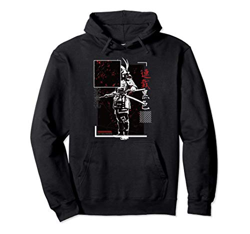 Samurai Martial Arts Streetwear - Japan Aesthetic Edgy Sudadera con Capucha