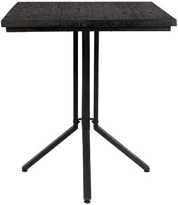 Felis Lifestyle Counter Table Maze Square Black, Taille Unique