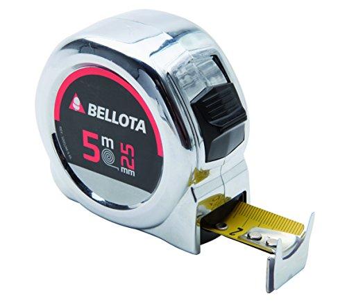 Bellota 50012-5 BL - Metro cinta métrica flexómetro para medir distancias de 5 metros