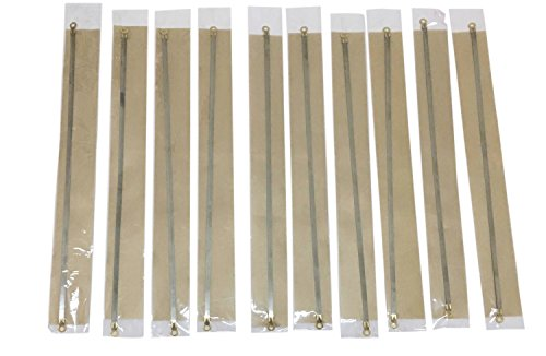 10PCS 12' Sealer Replacement Element Grip and Teflon Tapes, Impulse Sealer Repair Kits Heat Seal Strips for Most Hand Sealers, Length: 12 inch (300mm)