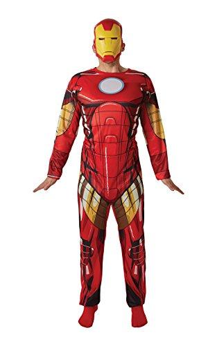 Rubie's-déguisement officiel - Marvel- Déguisement Iron man adulte- Taille Unique- I-810862STD