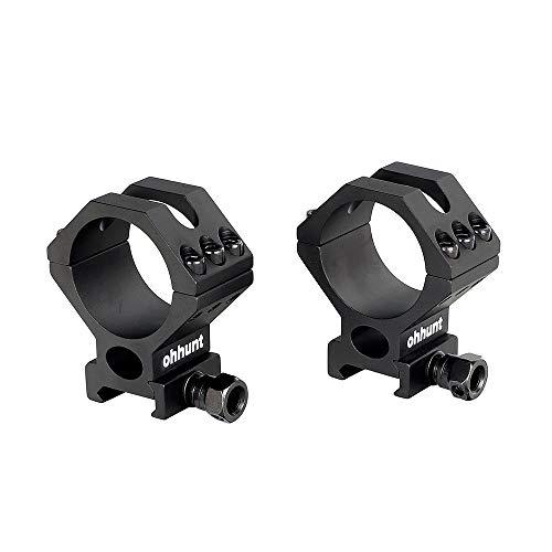 ohhunt Scope Rings Mounts Medium Profile Picatinny fits 30mm 34mm 35mm Tube Diameter Optics