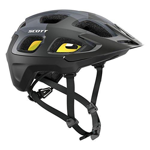 Casco para bicicleta de montaña Vivo Plus de Scott, Camo, negro, 2016, verano, Unisex, color schwarz (200), tamaño S (51-55cm)
