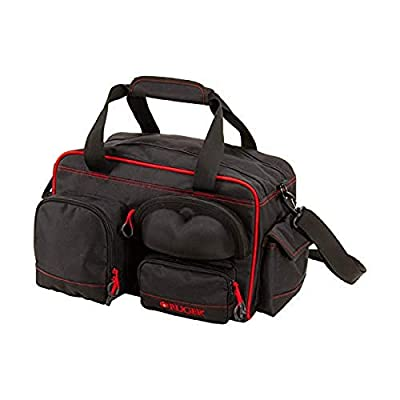 Ruger Peoria Performance Range Bag by Allen, Black and Red, One Size (27972)
