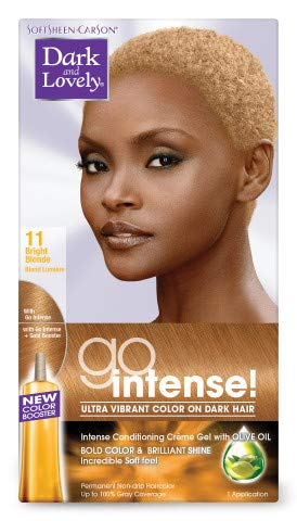 Dark Lovely Go Hair Color 011 Pack Bright 3 Blond of Max 59% 67% OFF of fixed price OFF