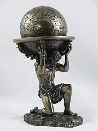 Atlas Carry The World Greek Gods - Figura decorativa (23 cm), diseño de dios griego