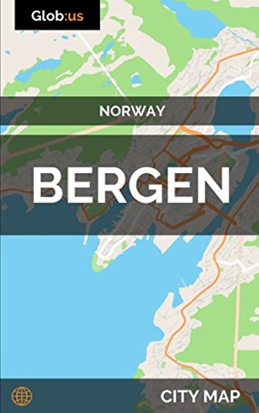 ハードリングルーそのようなBergen, Norway - City Map
