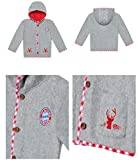 FC Bayern München Baby Fleecejacke Tracht Jacke Babyjacke (62/68)