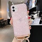 BAIYUNLONG Cas de Couverture, for iPhone 11 Pro Max Laser Motif Soft TPU TPU Cas de Protection avec...