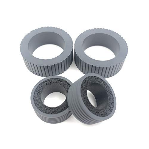 OKLILI PA03540-0001 PA03540-0002 Brake and Pick Pickup Roller Tire Kit Compatible with fi-6130 fi-6130Z fi-6140 fi-6140Z fi-6230 fi-6230Z fi-6125 fi-6225 ix500 ix1500 ix1400 ix1600 Photo #4