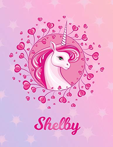 Shelby: Unicorn Sheet Music Note Manuscript Notebook Paper – Magical Horse Personalized Letter S Initial Custom First Name Cover – Musician Composer … Notepad Notation Guide – Compose Write Songs