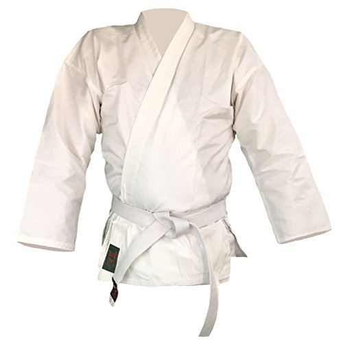 Budodrake Karatejacke weiß (190)