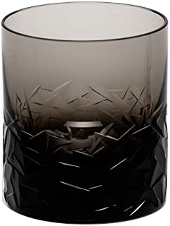 Moser Crystal Smoke Drift Ice Double Old Fashioned