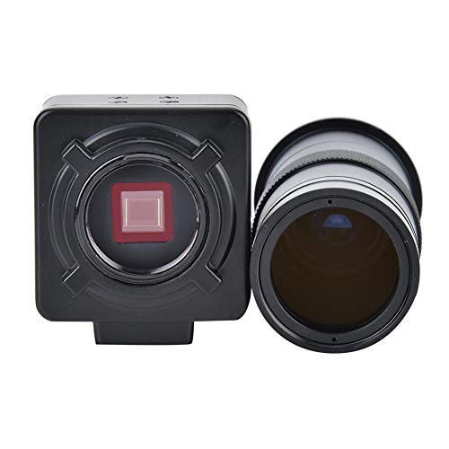 Microscoopcamera Softwarelenskit, 5 MP USB Industriële videomicroscoopcamera Industriële elektronische digitale videomicroscoopcamera met 100x C-lens
