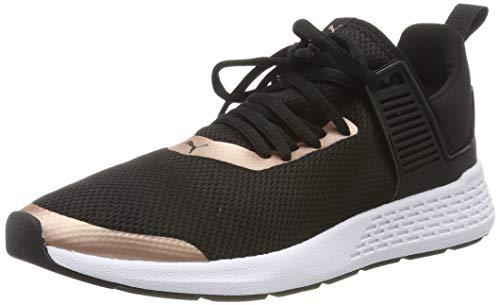 Puma Insurge Mesh 2.0 Sneaker Unisex-Erwachsene, Schwarz (Puma Black-Rose Gold-Puma White), 43 EU