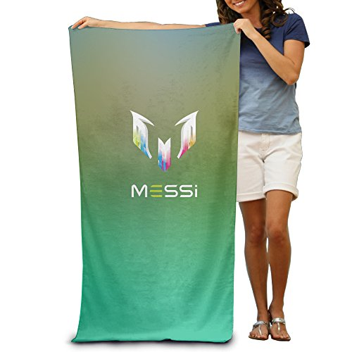 """WYAOZHICI Lionel Messi Personal Logo 31.5"""" 51"""" Pool Beach Towel"""