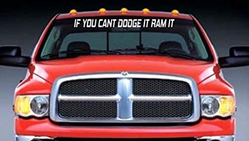 SUPERSTICKI if You Cant compatibel voor Dodge it ram it ca 90 cm Tuning Decal Racing Sport Sticker Muurtattoo