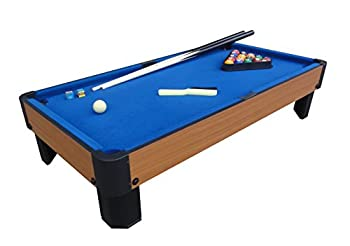 Playcraft Sport Bank Shot 40  Pool Table with Blue Cloth