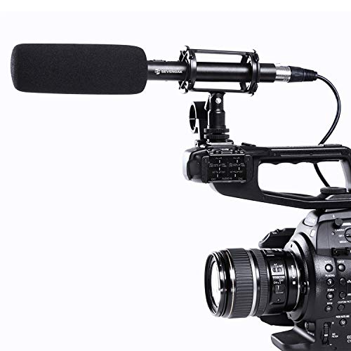 BOYA BY-PVM1000 Pro Broadcast-quality Condenser Shotgun Microphone for Canon Nikon Pentax Cameras