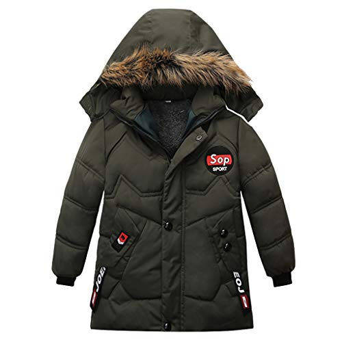 Syliababy Kinder Winterjacke Jungen Warme Steppjacke Winddicht Verdickte Winter...