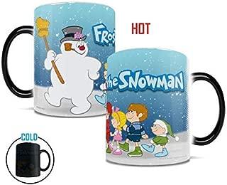 Frosty the Snowman – Frosty and Kids - Morphing Mugs Heat Sensitive Mug – Ceramic Color Changing Coffee Mug