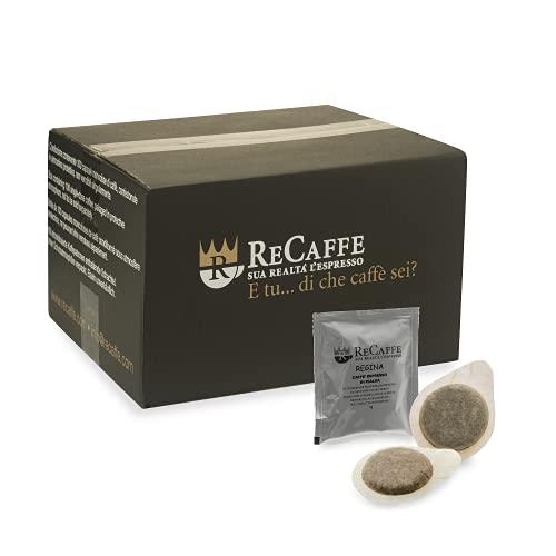 RECAFFE - ESE 44 vaina, paquete de 150 vainas envueltas individualmente Regina 100% Arábica sabor envolvente
