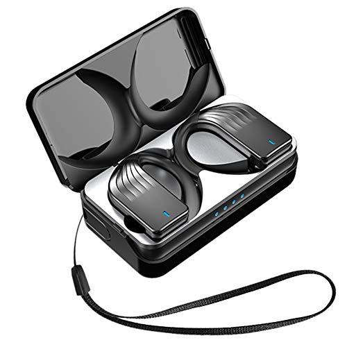 Mogzank Auriculares 5.0 Auriculares InaláMbricos Control de Volumen Impermeables Deportes Fitness Tapones para los OíDos Gancho para los OíDos con MicróFono