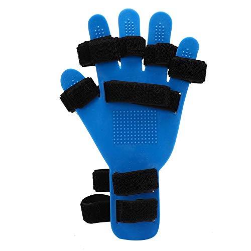 Finger Training Board, Finger Orthotics Silicone Universal Left and Right Hand Finger Orthotics Extended Type Fingerboard for Stroke/Hemiplegia Hand Splint Training Support