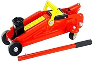 Delta Enterprise Floor Jack Car Jack Hydraulic Trolley Jack with Strong Stick to Push Car Jack - 2 Ton Capacity