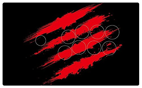 Mad Catz authorized special faceplate scratch logo Fight Stick Art for Mad Catz TE2 and TE2+