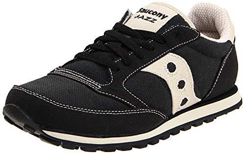 Saucony mens Jazz Low Pro Vegan Sneaker, Black, 11 M US