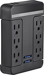Two USB charge ports with 2.1 A total current - fast charging of 2 smartphones or 1 tablet Protects equipment from damaging power surges and spikes Maximizes performance by reducing EMI/RFI interference and allowing only clean power to equipment