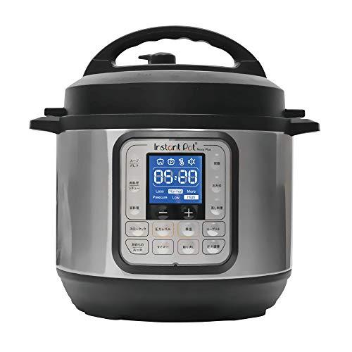 【国内正規輸入品】マルチ電気圧力鍋 Instant Pot(インスタントポット) 1台7役 Nova Plus Mini 3.0L ISP1003