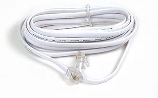 Belkin Modem Cable - RJ-11 (M) - RJ-11 (M) - 25 ft (F8V100-25-WH)