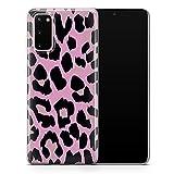 Cheetah Wild Leopard - Funda para teléfono móvil, diseño de leopardo sólido, compatible con Samsung Galaxy S21 ultra – Delgada y suave TPU silicona parachoques – Diseño 1 – A62