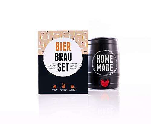 Bierbrauset zum selber Brauen – Weißbier im 5 L Bierfass - in 7 Tagen gebraut