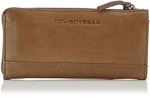 Cowboysbag Purse Helston 1437 Unisex-Erwachsene Geldbörse 19x10x3 cm (B x H x T), Braun (Mud 560)