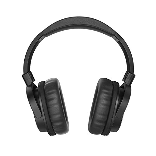 Thomson Headset mit Mikrofon und langem Kabel (Stereo-Kopfhörer für PC oder TV, Over-Ear Ohrhörer mit Lautstärkeregeler, 8 m Kabel, 3,5 mm Klinkenkabel, 6,35 mm Adapter)