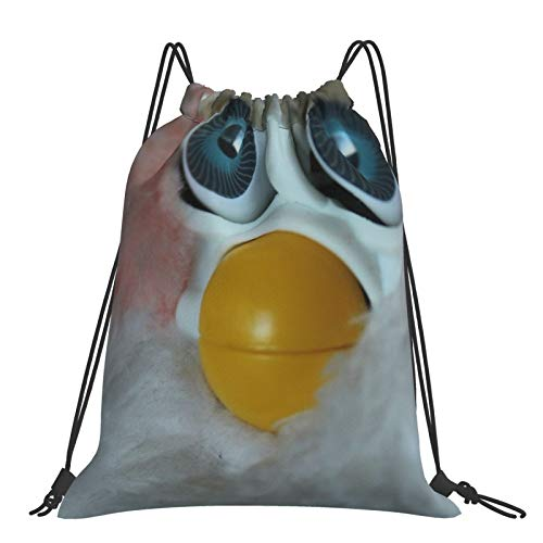 Mochila con cordón para fitness al aire libre, portátil, ajustable, impermeable, para deportes, cuando volverá a mi marido de War Furby