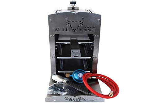 Germatic Gas Grill BBQ Bull Burner 4Sterne Barbeque Gasgrill