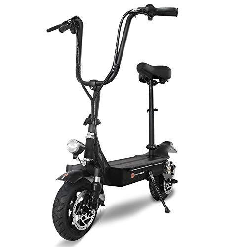 CYT Harley Elektrische scooter voor volwassenen, met brede banden