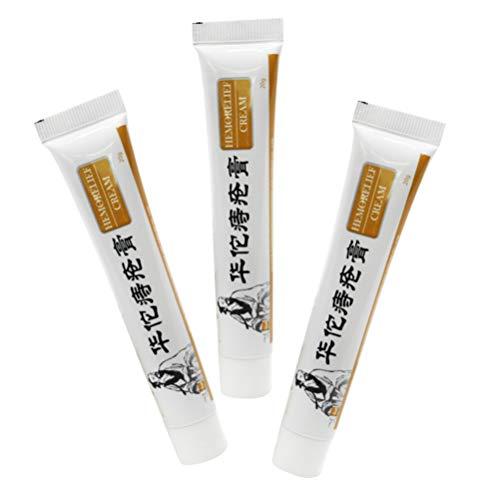 MILISTEN 3 Stks Aambei Crème Aambei Zalf Aambei Symptoom Behandeling Pijnstiller Verzachtende Crème Voor Rustgevende Huidverzorging Thuis