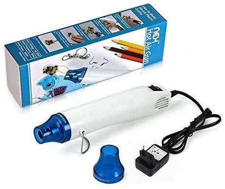 Heißluftpistole 300W Mini tragbar für Professionelle DIY für Trocknen Farbe, Rubber Stamp, Heating Small Clay Works Handwerk