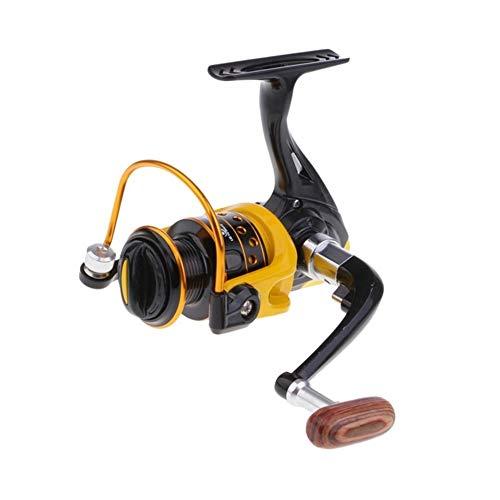 RLJJCS1163 Pesca Carrete de la Pesca Leftfield Y Veraz Carrete Rodamientos de Bolas 12BB (Color : HD2000)