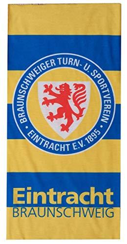 Eintracht Braunschweig Multifunktionstuch - Streifen - Schlauchschal, Tuch, Halstuch BTSV - Plus Lesezeichen Wir lieben Fußball