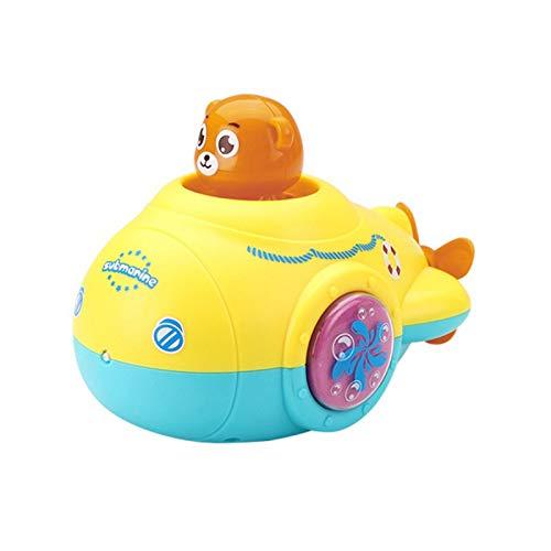 LYY Interesante New Neutral Neutral Baby Baby Shower Submarino Natación Peluquería Hombre Muchacha Cuarto de baño Play Juguetes de Agua Juguetes Divertidos Juguetes de baño adecuados para niños.