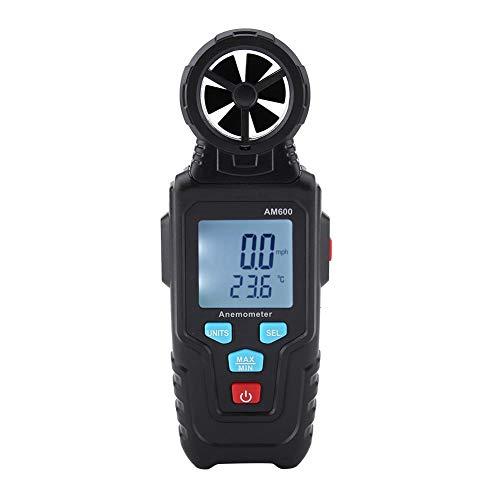 mootea MESTEK AM600 Anemómetro Digital LCD Medidor de Velocidad del Viento Medidor...